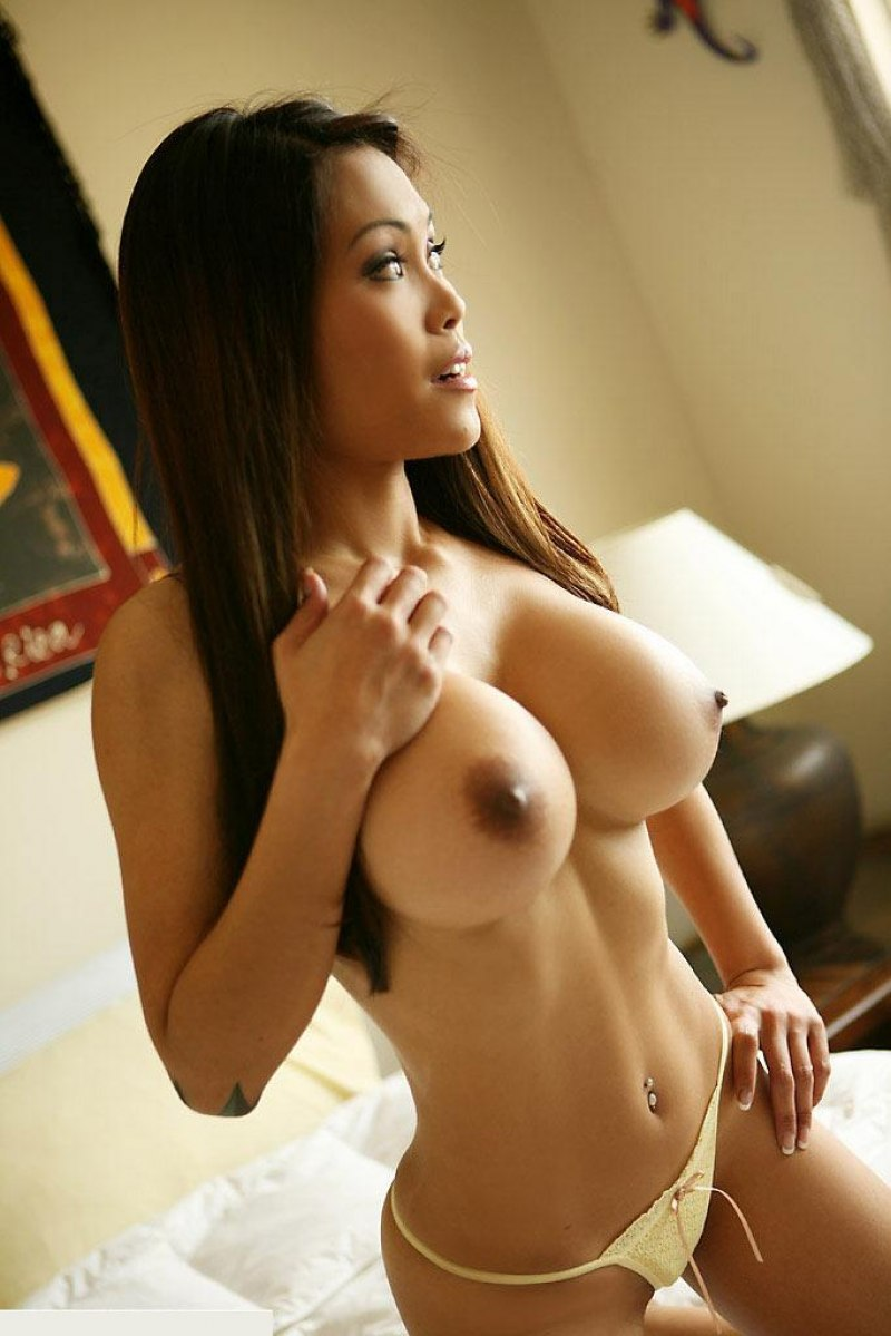 Breasts asian girl large skinny